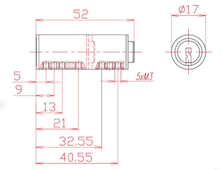 Profile Cylinder L52