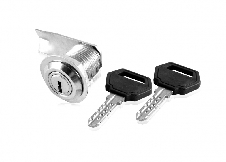 Lock unilateral single-motion cylinder type with metal casing