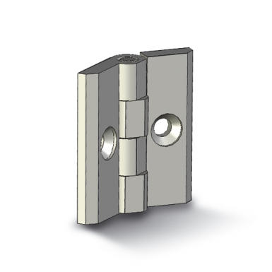 Hinge with openings F6