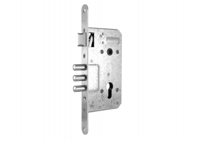 Combination lock 2001 with three steel bolts