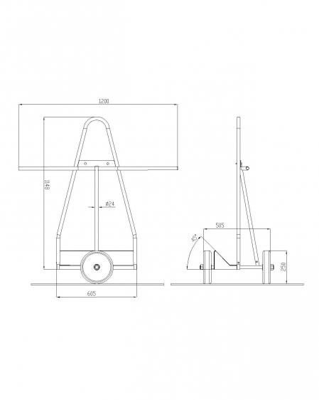 Doors cart