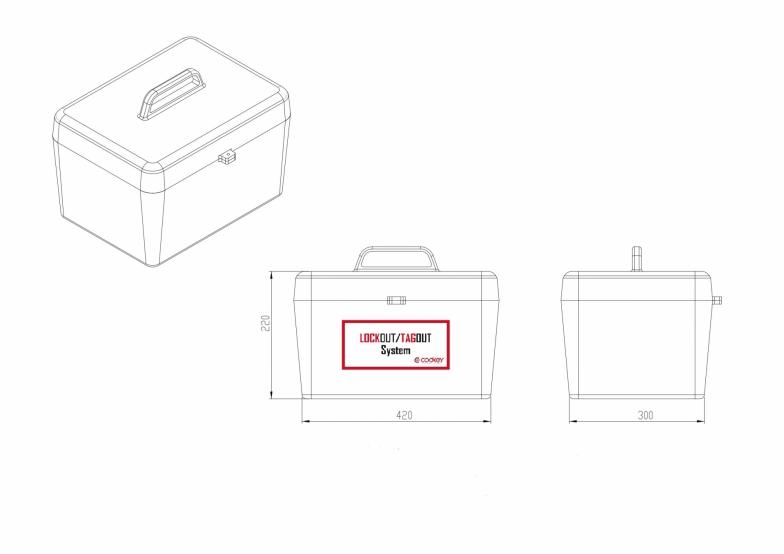 Item box LOCKOUT/TAGOUT